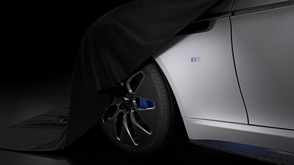Rapid E: Aston Martin teasert erstes Elektroauto an