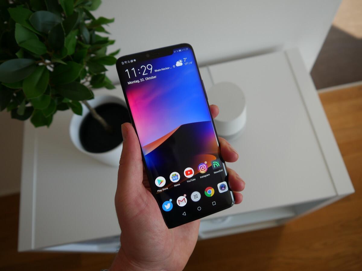 Huawei Mate 20 Pro bekommt Android-Update spendiert