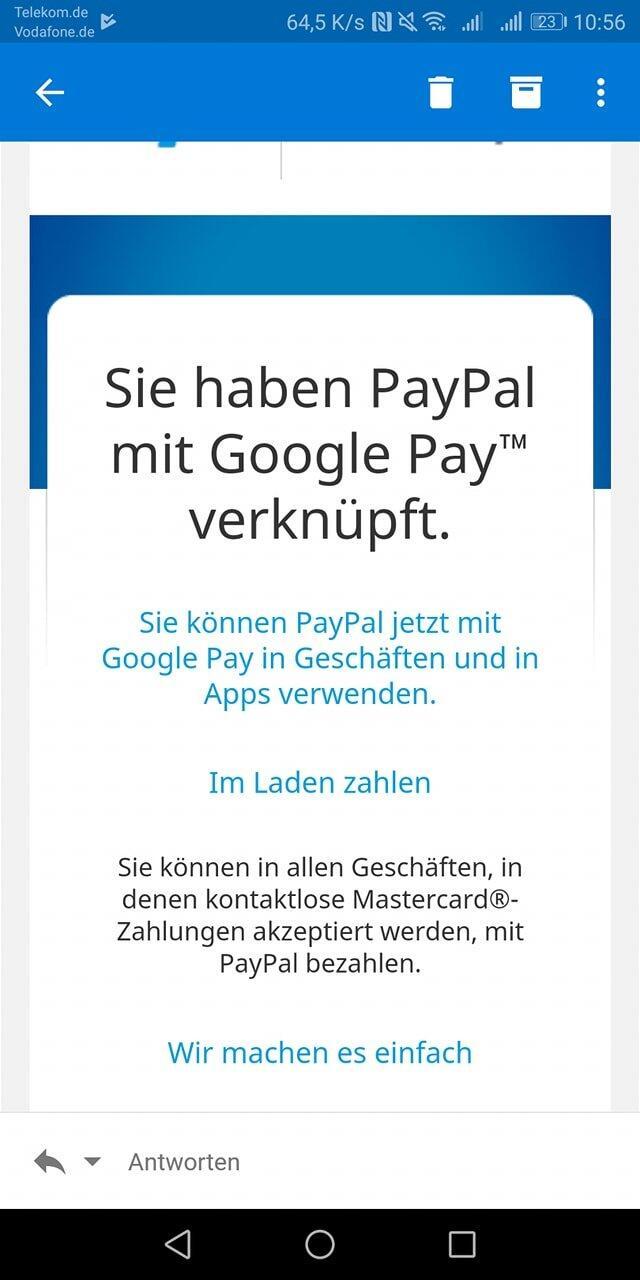Paypal Neu