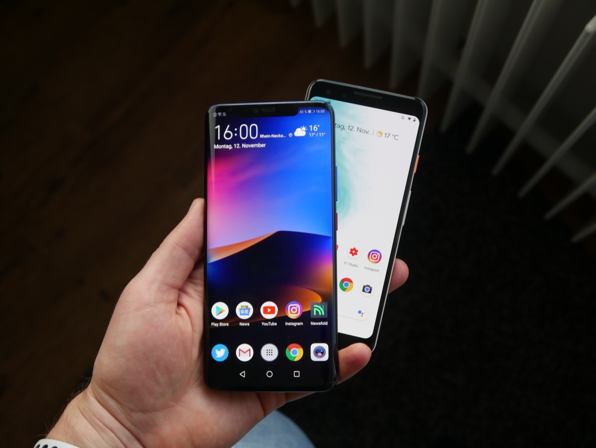 Google und Huawei: Partnerschaft wohl vorübergehend ausgesetzt