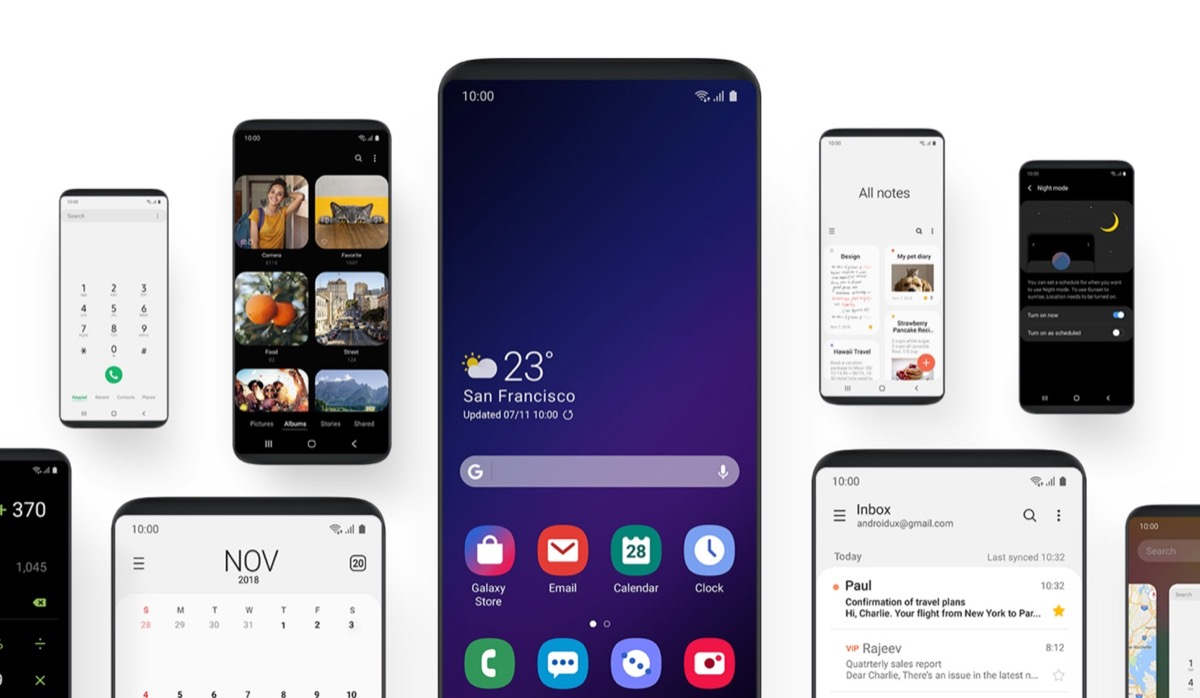 Android Q: Samsung plant wohl One IU 2.0, Version 2.1 kommt mit dem S11