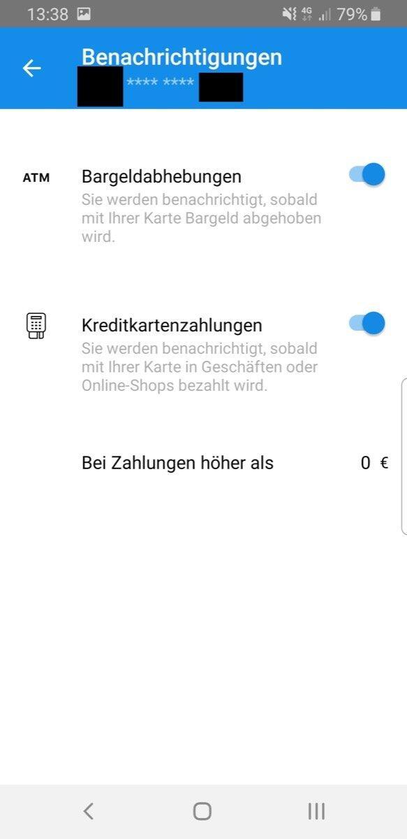 Dkb Card Control