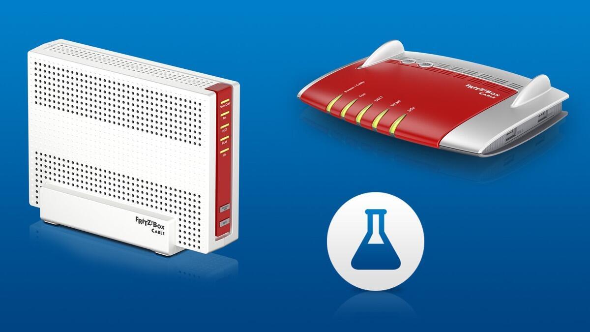 FRITZBox 20 Cable und 20 Cable AVM veröffentlicht Labor Update