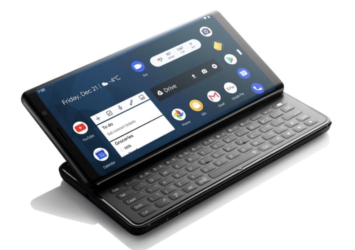 F(x)tec Pro1: Sliderphone mit Android und Tastatur ab Juli erhältlich