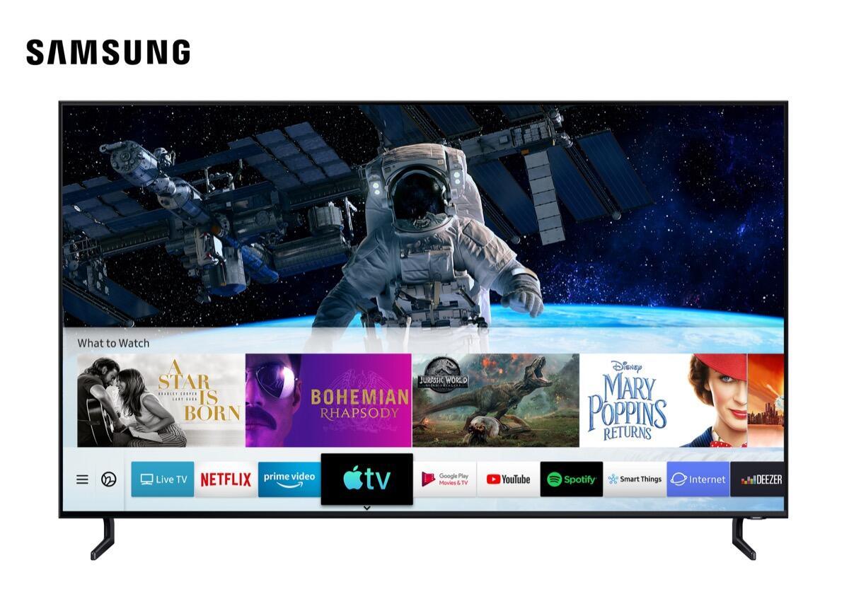 Neue Apple TV App landet auf Samsung TVs