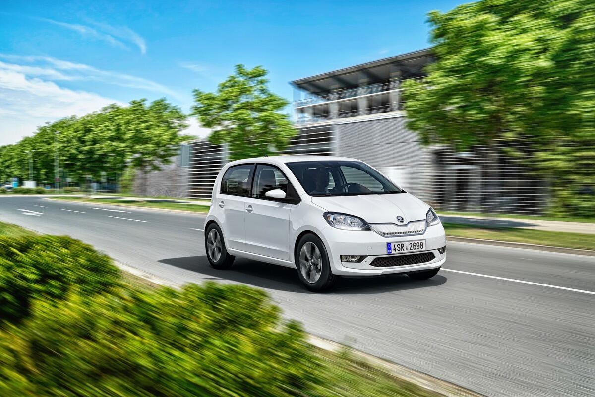 Škoda CITIGOe iV: Erstes Elektroauto der neuen Submarke vorgestellt