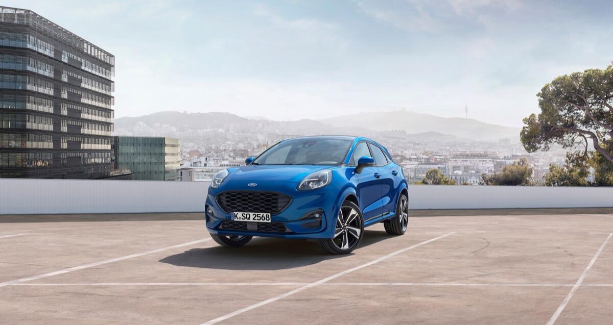 Ford Puma mit 48-Volt-Hybridsystem kostet ab 26.900 Euro