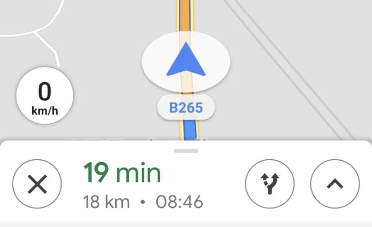 Google Maps: Anzeige der Geschwindigkeit landet bei mehr Nutzern