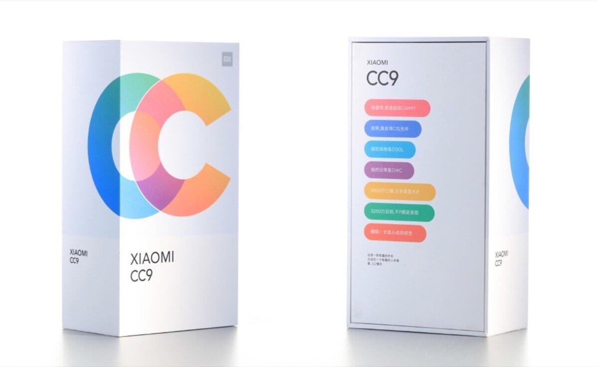 Xiaomi Mi CC9: Bilder und Verpackung