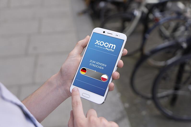 Geld ins Ausland senden: PayPal startet Xoom in Deutschland