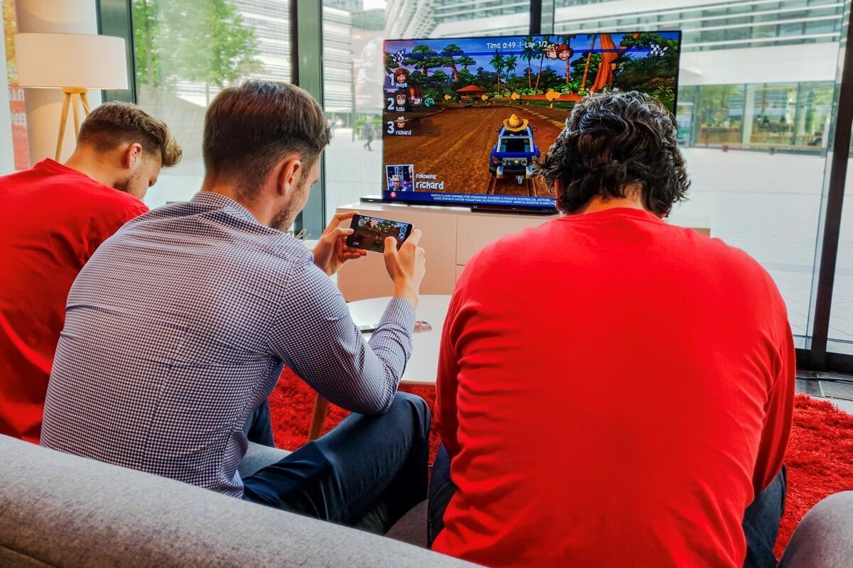 Vodafone und Hatch: Partnerschaft für Cloud Gaming
