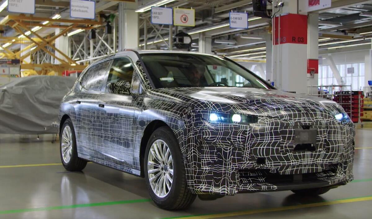 BMW iNEXT: Reichweite leicht nach unten korrigiert