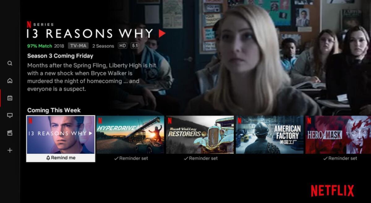 Netflix Vorschau