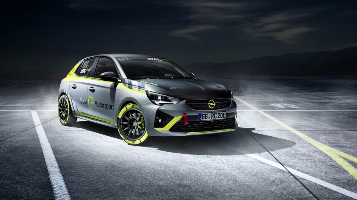 Opel Corsa-e: Elektrisches Rallyeauto angekündigt