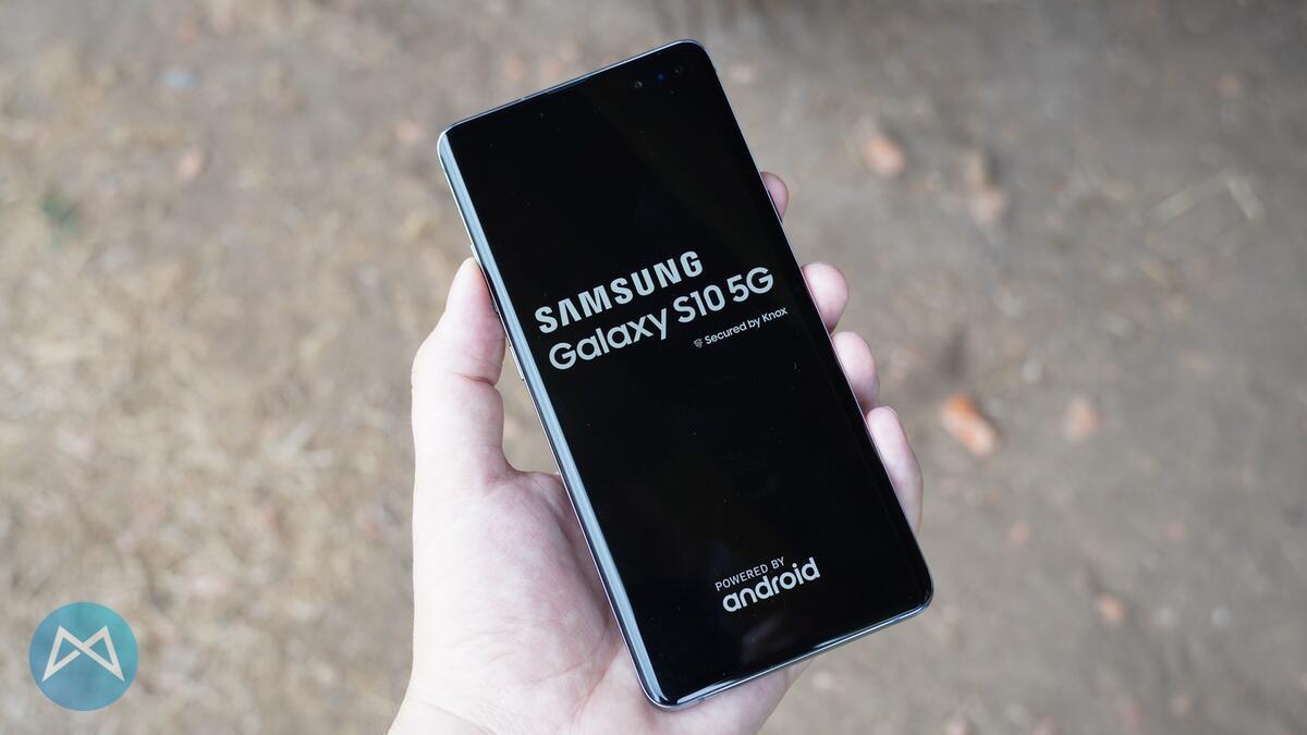 Samsung Galaxy S10 5G ausprobiert