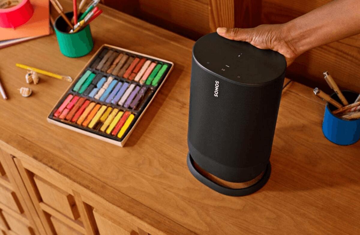 Sonos Move: Portabler Speaker zeigt sich erneut