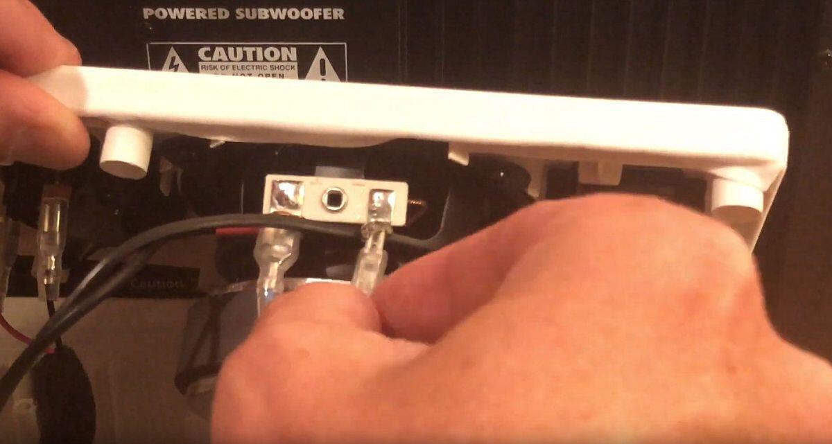 IKEA Symfonisk Hack: Subwoofer verbinden