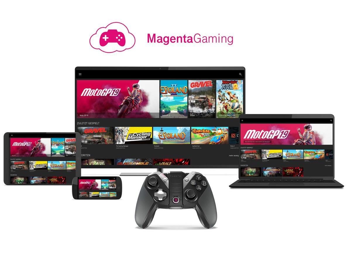 Magenta Gaming: Telekom mit Cloud Gaming Service