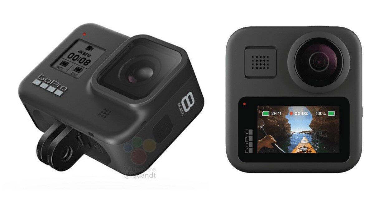 GoPro Hero 8 Black und Max mit integriertem Mount-System