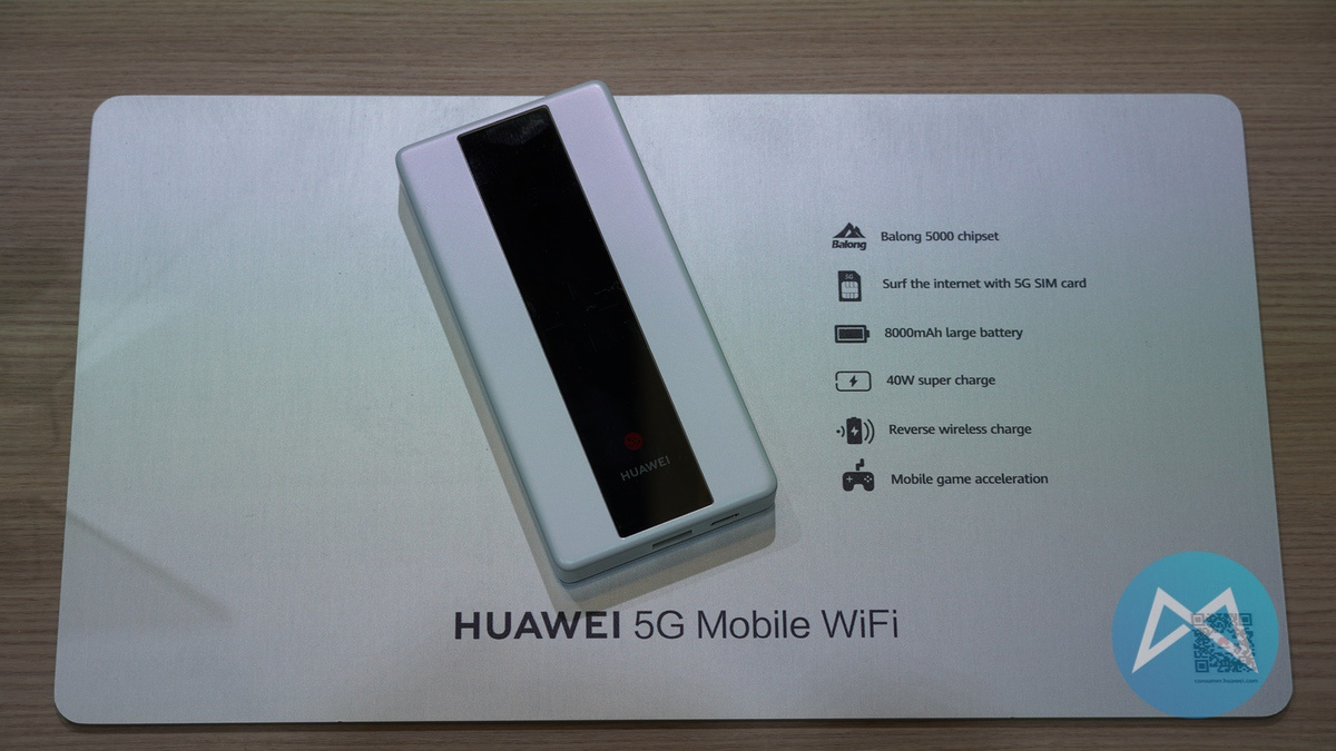 Huawei 5G Mobile WiFi E6878 im Hands-On