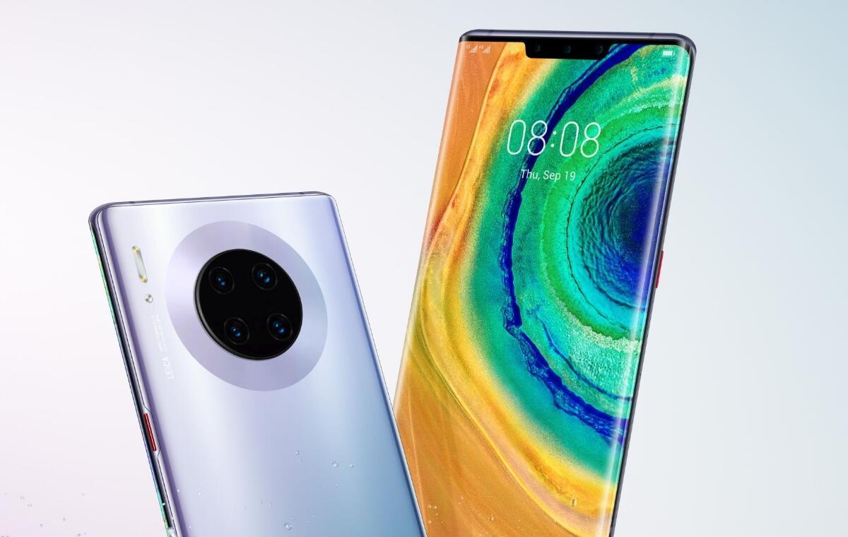 Huawei Mate 30: Pressebilder vom ganzen Lineup