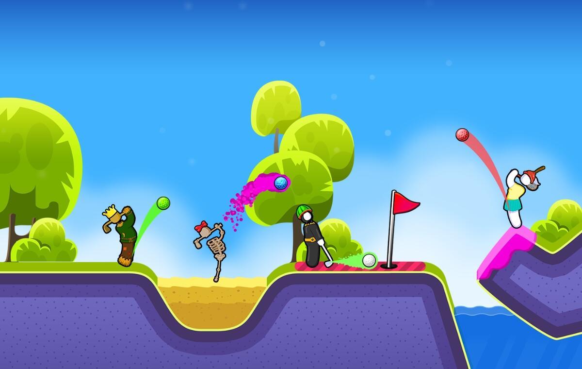 Tipp: Golf Blitz für Android und iOS