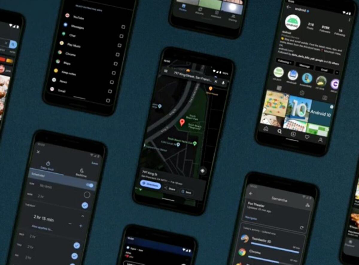 Google zeigt Dark Mode für Google Maps