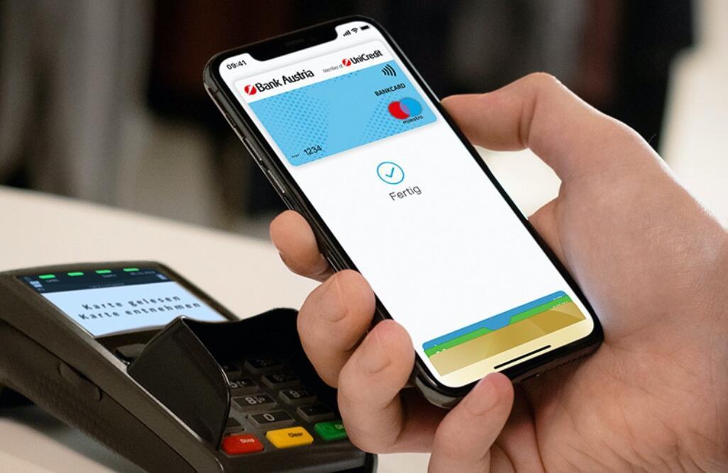 Unicredit Bank Austria startet mit Apple Pay in Österreich