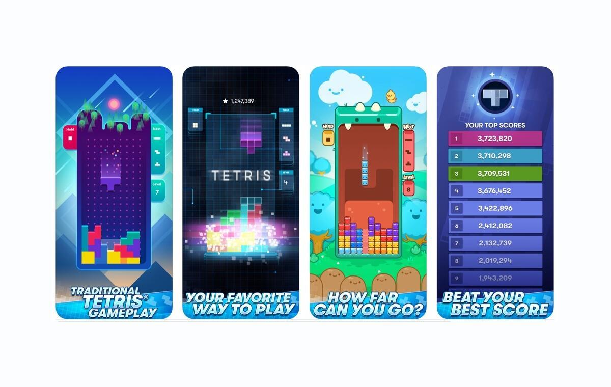 Tetris: Neue Version für Android und iOS